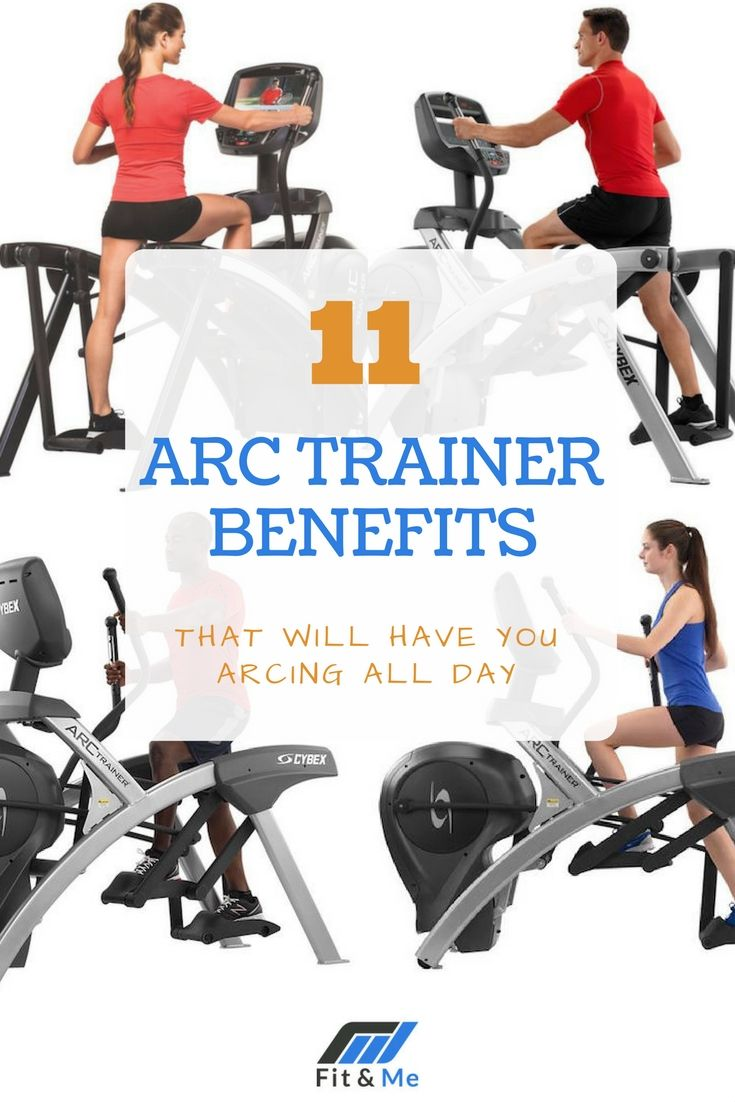 The Arc Trainer benefits are vast and they each work in their own way to make you a healthier person. Read on to discover them all!