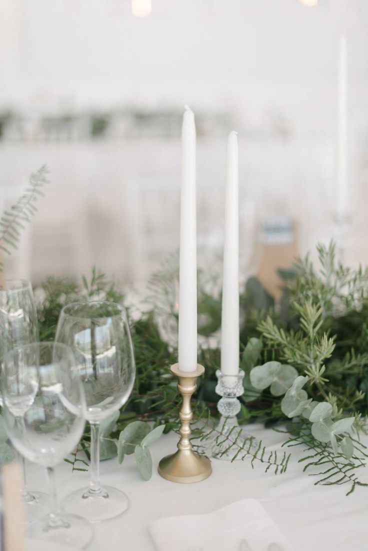 South African wedding in a fresh green & white palette via Magnolia Rouge