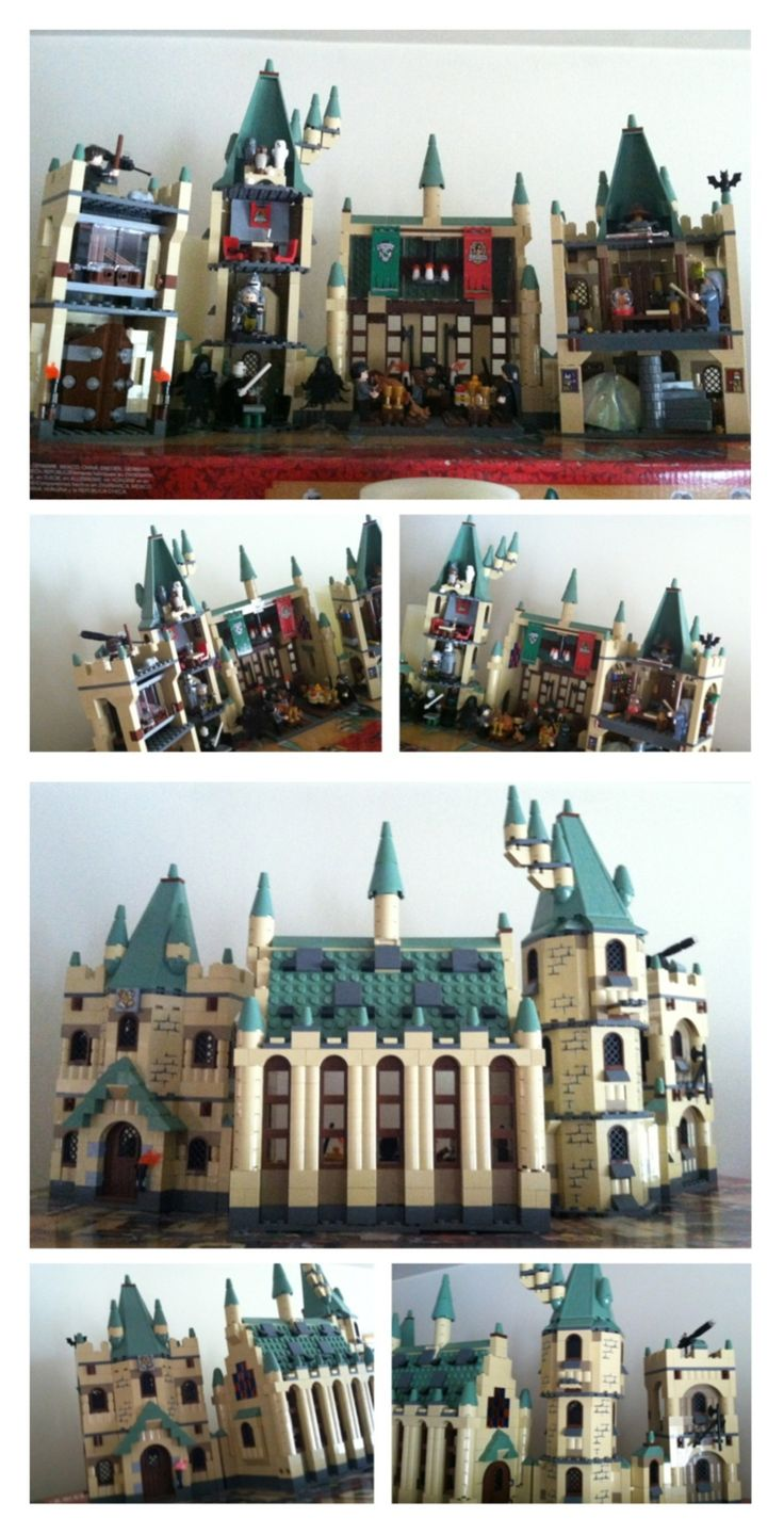 Hogwarts castle harry potter lego set