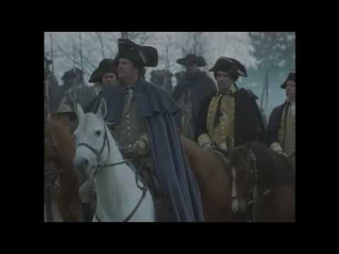 This is a 4 minute movie showing famous artwork from the Revolutionary War and movie clips  set to music.  My favorite part is near the end where George Washington is kneeling in prayer!