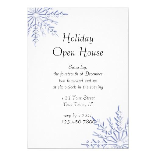 29 best Holiday Open House Invitations images on Pinterest Open - fresh invitation wording for trunk party