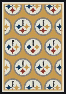 MillikenNFL Home TeamPittsburgh Steelers Rug