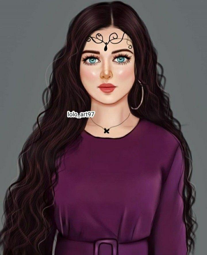 Pin By Syeℓma ۦ On خلفيات حلوة للبنات Art Girl Cute Cartoon Girl Girly M