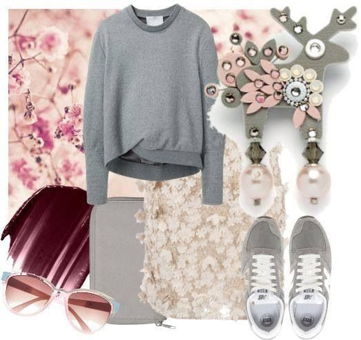 Jelínek Harlekýn miluje kombinaci růžové a šedivé!