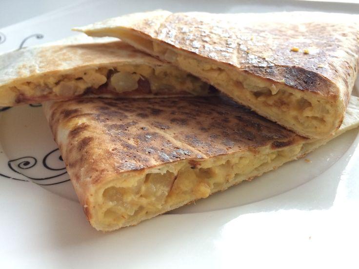 Śniadaniowa quesadillas