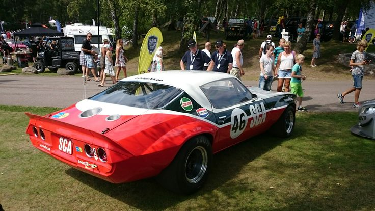 Cool racing Camaro.  Halmstad, Sweden, Sports Car Event.