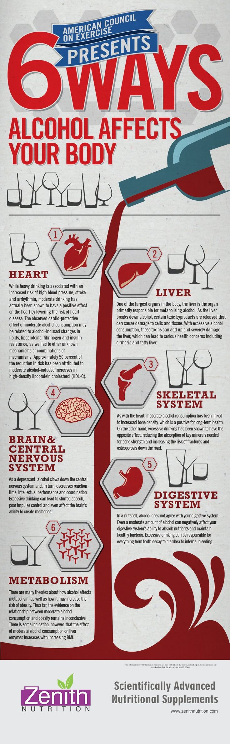 6 Ways Alcohol Affects Your Body. Heart, Liver, Skeletal ...
