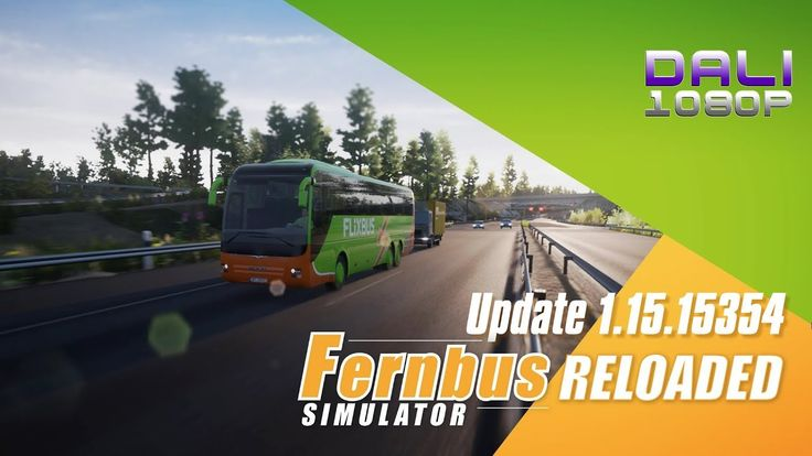 Fernbus Coach Simulator RELOADED Update 1.15.15354 -8 November 2017 The biggest update yet for Fernbus Coach Simulator is here. There have been a lot of minor and major additional improvements and fixes, which you can read through in detail in the video's description. #FernbusSimulator #TMLStudios #simulator #Steam #YouTube #DaliHDGaming