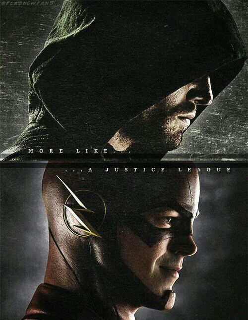 Arrow and Flash:  More like a justice league