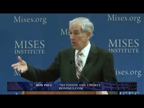"""Ron Paul: """"Good News"""" That Secession Is Happening"""
