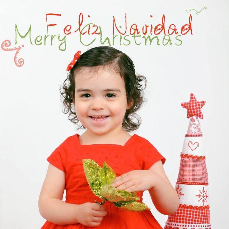 Feliz Navidad, Merry Christmaswith the beautiful Sofia
