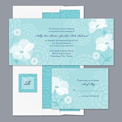 Moonlight Blossoms - Pool - Invitation