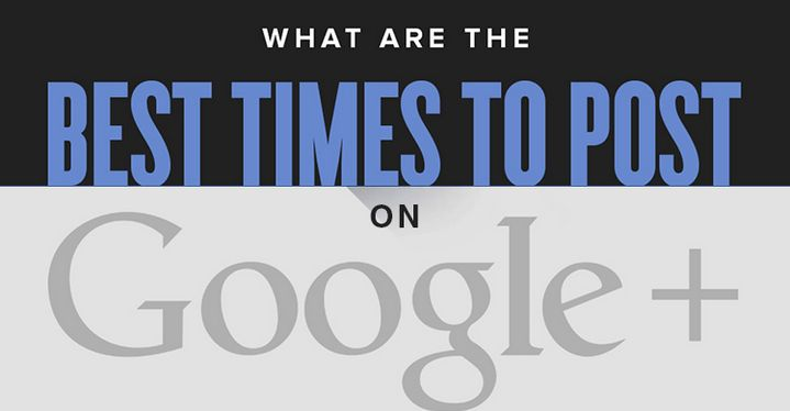 When is the Best Time to Post on Google Plus? Arrow Digital