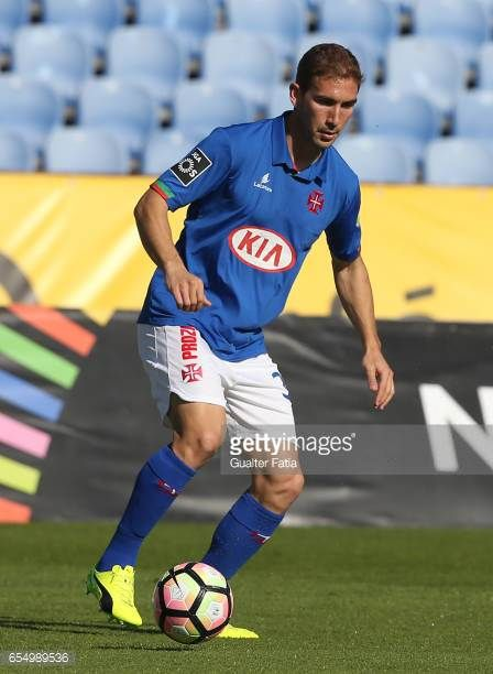 Belenenses's defender Goncalo Silva from Portugal in action during the Primeira Liga match between CF Os Belenenses and SC Braga at Estadio do...