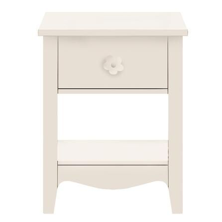 Cheap bedside table, just swap the drawer knob for something a bit classier!