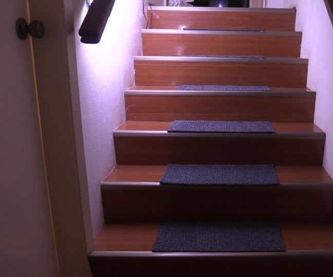 Motion Activated Automatic Led Stair Lighting With Arduino Stair Lighting Stair Lights Philips Hue Starter Kit