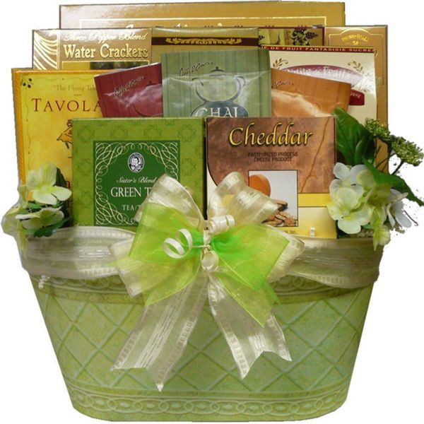 Thinking of You Tea and Gourmet Food Gift Basket - Overstock™ Shopping - Big Discounts on Gourmet Food Baskets