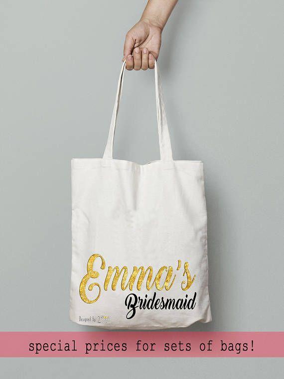 Will you be my bridesmaid proposal gift box bridesmaid bag