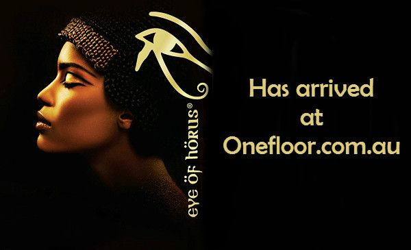 Eye of Horus Cosmetics is now available at www.onefloor.com.au