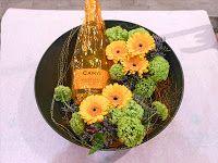 dekorasjon med flaske