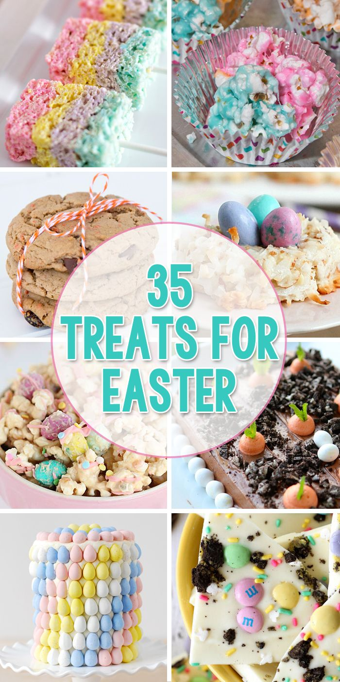 35 Treats for Easter