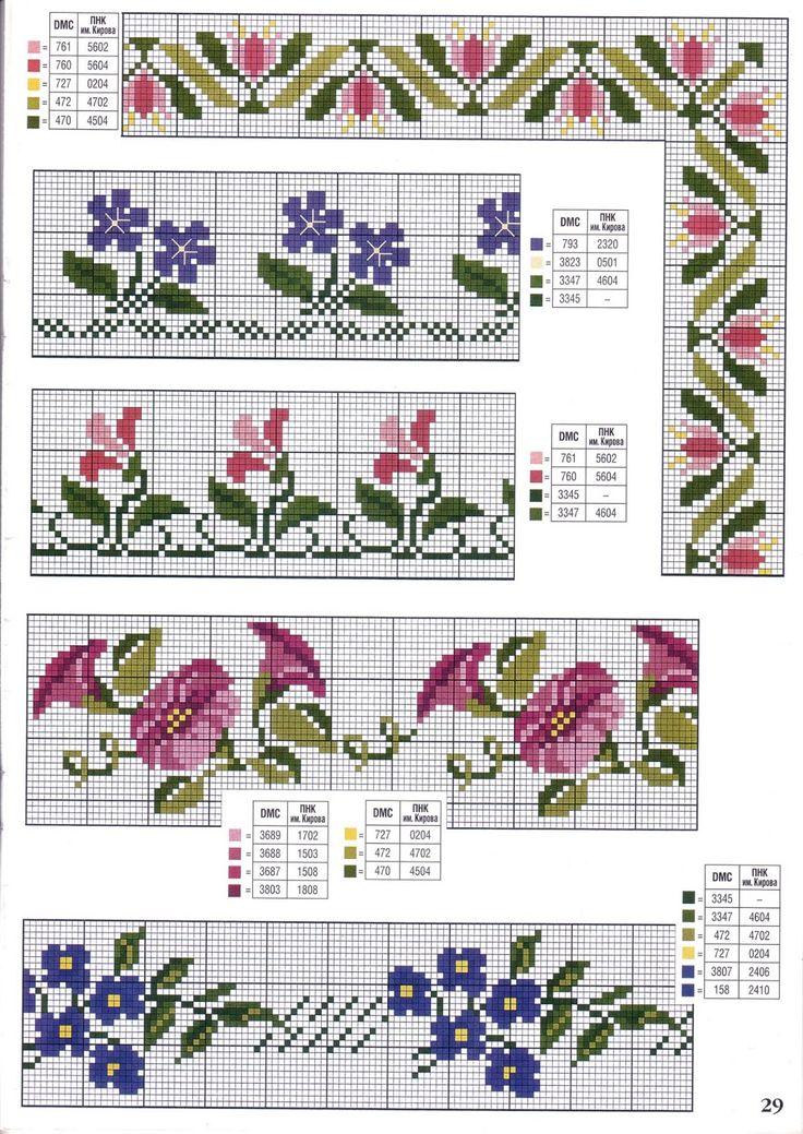 68 best Cross stitch images on Pinterest | Bordado de punto de cruz ...