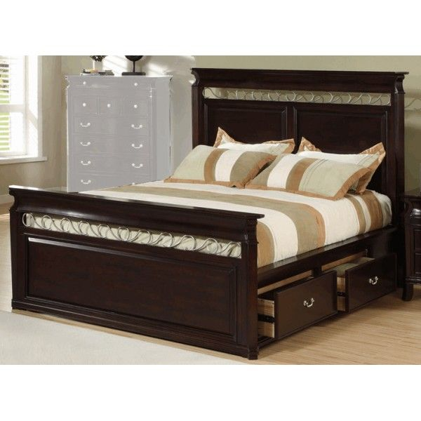 designs king size bed frame with storage for small bedroom - King Size Bed Frame With Storage Drawers