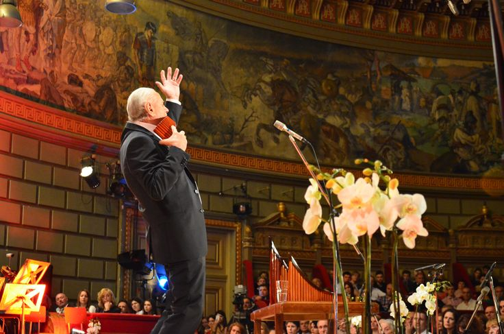 Zamfir 50 years on stage Anniversary Gala at the Romanian Athenaeum on 31st of May 2014.