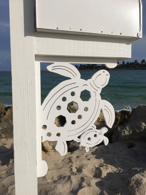 Sea Turtle With Baby Large Decorative Corner By
