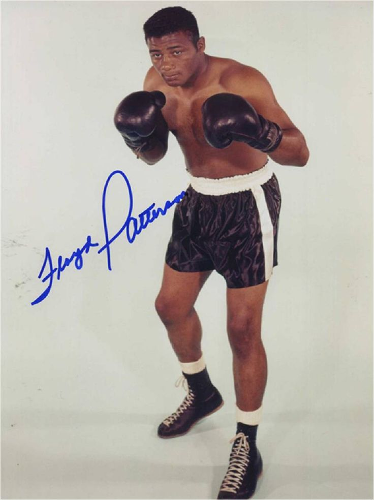 Floyd Patterson (January 4, 1935 – May 11, 2006) was an American heavyweight boxer and former undisputed heavyweight champion. At 21, Patterson became the youngest man to win the world heavyweight title. He was also the first heavyweight boxer to regain the title. He had a record of 55 wins 8 losses and 1 draw, with 40 wins by knockout. He won the gold medal at the 1952 Olympic Games as a middleweight.  Although Mike Tyson later became the youngest boxer to win a world heavyweight title…
