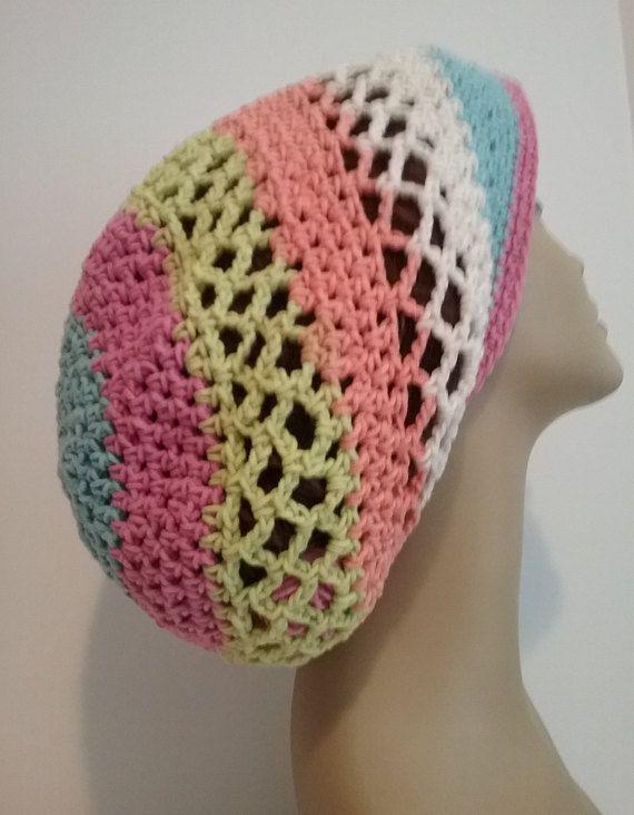 bf5d3d392 Slouchy Hat - Dreadlock Hat - Summer Hat - Boho Hat - Hippie Hat ...