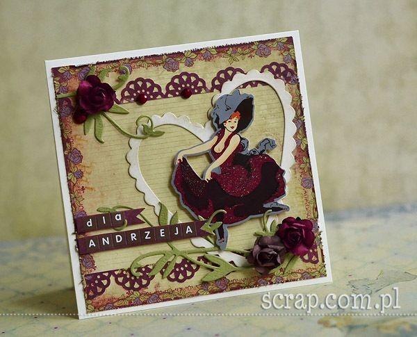 papierowe różyczki z miksu kolorowego