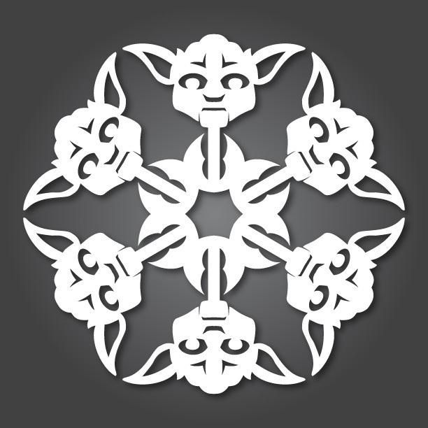 Nu kan alla göra egna Star Wars dekorationer till granen. Har länge sparat denna bild i min Pinterest mapp på roliga saker att göra till jul. Och så idag sprang jag på en videotutorial och gratis...