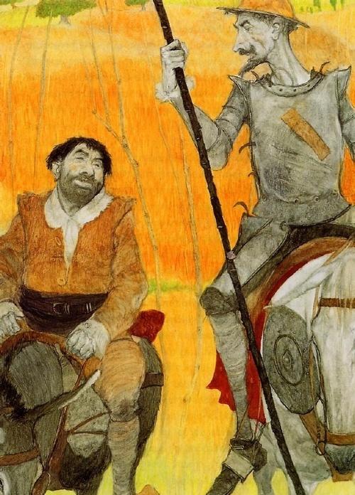 Don Quixote illustrated by Svetlin Vassilev: