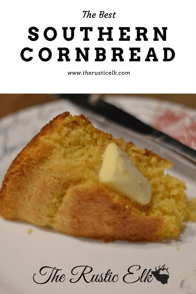 Looking for an easy, from-scratch, southern-style cornbread recipe? This recipe is the right mix of savory and sweet and sure to complement any meal!