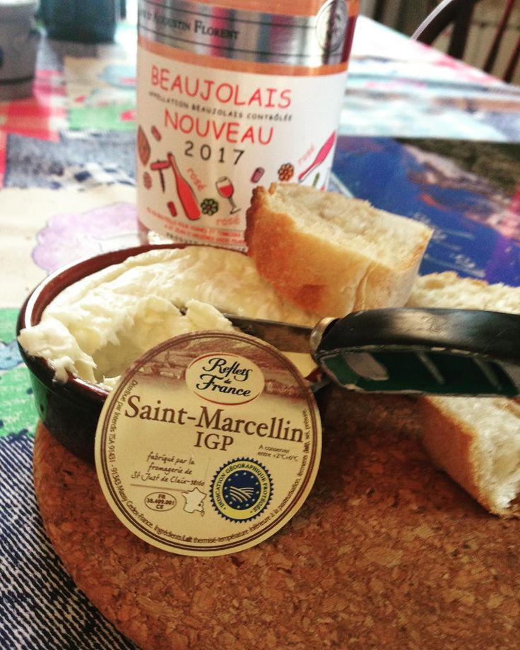 Like I need to find new #cheese but THIS is my new #fav #stmarcellin #refletsdefrance #wow and then I found #rose #beaujolais I am one #happygirl #cheesy #foodporn #cheeseaddict #cantstopwontstop #hello_france #savoie #imneverleaving #food #ilovefrance #instafood  #frenchfood #aixlesbains #foodstagram #alpes