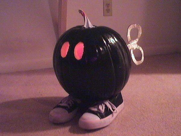 Super Mario Pumpkin Bomb