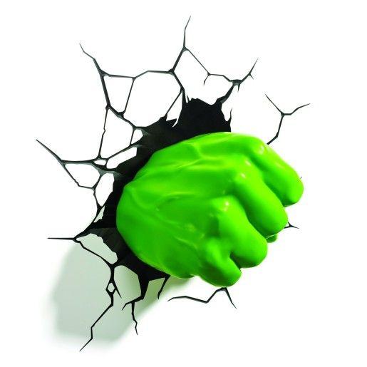 Hulk Fist 3D Deco Light | Maplin