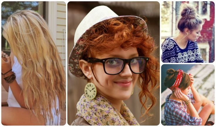 Hipster Hair Styles: Hipster Girl Hairstyle / Peinados