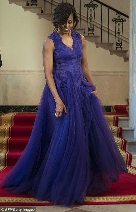 The most Royal First Lady of these United States of America! Michelle Obama.