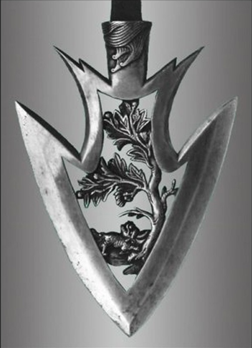 Carved Arrow Tip