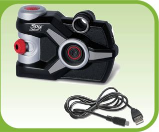 Cool gadget -- photography meets spy theme meets computer, what more can a 6-year-old ask for?