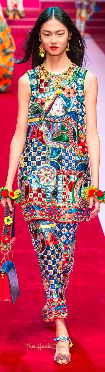 Dolce & Gabbana Spring 2018 RTW #MFW #ss18