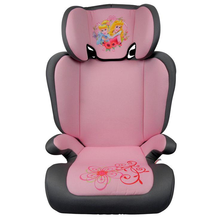 Disney Autostoel Princess  Description: Vervoer je kinderen veilig met dit mooie Princess kinderzitje. Dit Princess zitje is een autostoel uit groep 2/3 en is geschikt voor kinderen in de leeftijd van 4 tot 12 jaar (15 tot 36 kilogram). De Princess stoel is eenvoudig te installeren door de duidelijke gordelroute en past in alle auto?s die standaard zijn uitgerust met een 3-puntsgordel. De rugleuning is verstelbaar zodat je kind altijd comfortabel zit. De hoofdsteun is in hoogte verstelbaar…