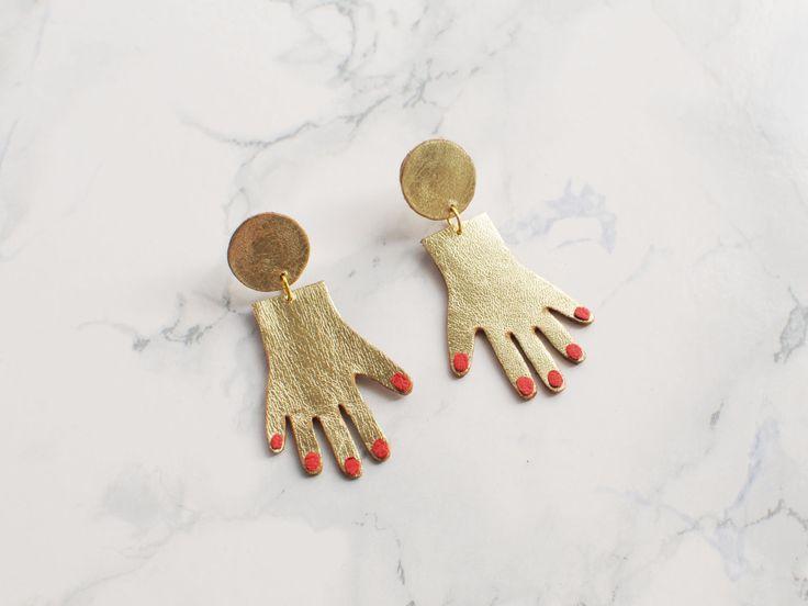 Benu - Hand Earrings