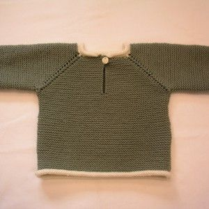 retstrikket babytrøje
