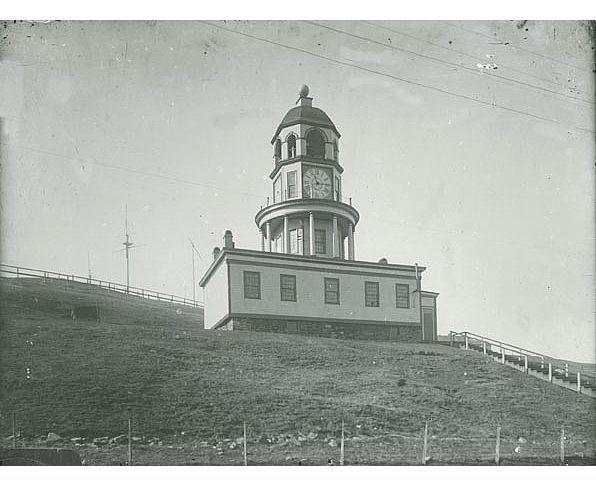 Town clock, Halifax Citadel, Halifax, Nova Scotia