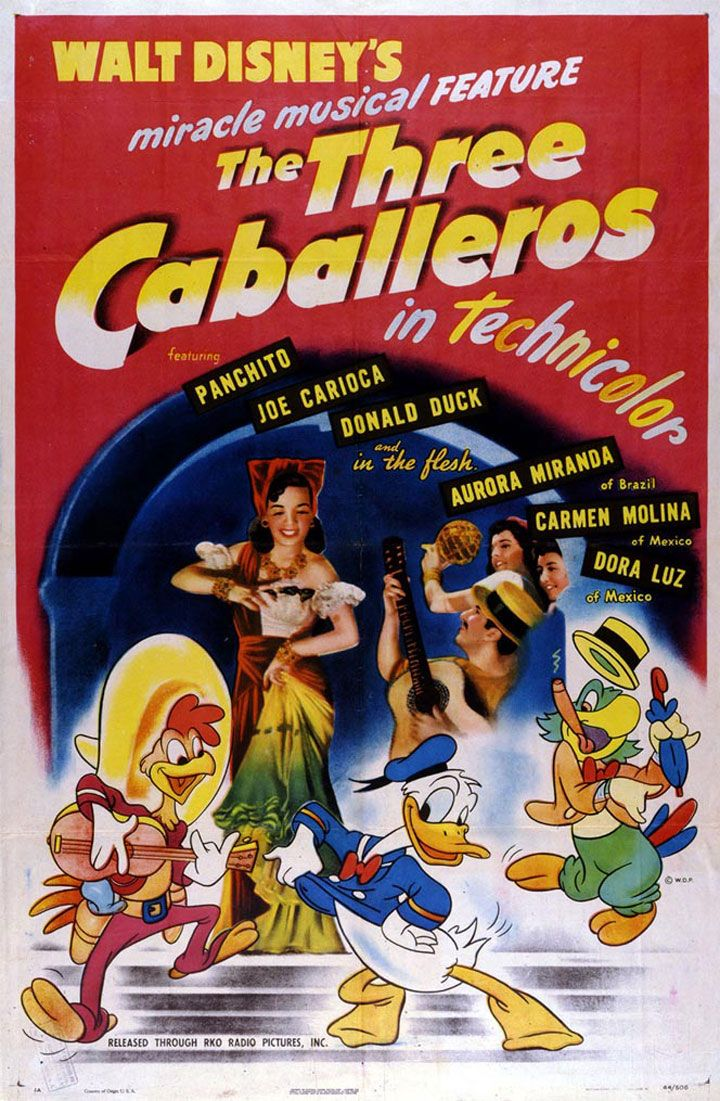 Les trois Caballeros - 1945