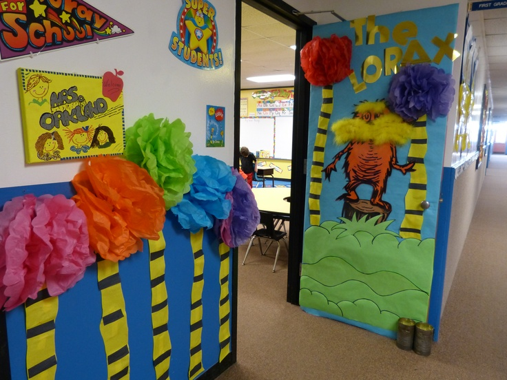 The Lorax Decorative Door