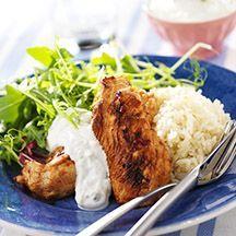 (13 pp) Rödlöksmarinerade kycklingfiléer